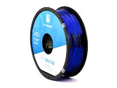 Translucent Blue MH Build Series TPU Flexible Filament - 3.00mm (1kg)