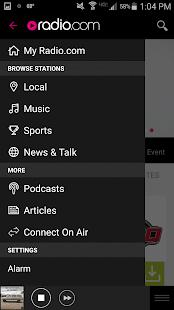 Radio.com- screenshot thumbnail