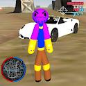 Super Thanos Stickman Rope Hero Gangster Crime icon