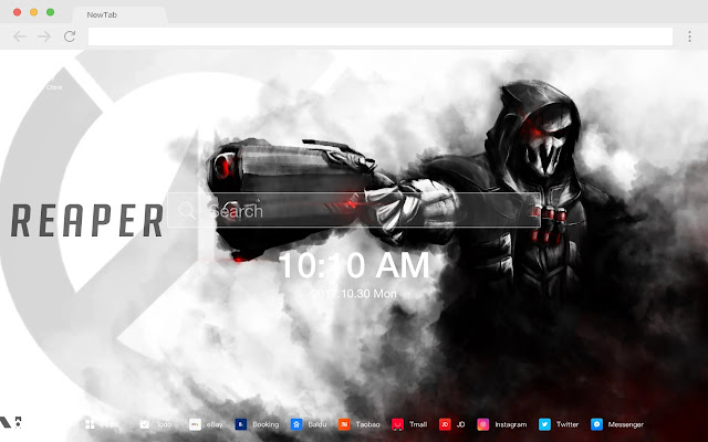 Reaper HD Wallpapers Top Games New Tabs Theme