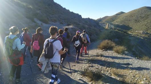 La Ruta al Barranco del Jaroso cierra el programa senderista de este trimestre