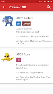 App Pokédex for Android APK for Windows Phone