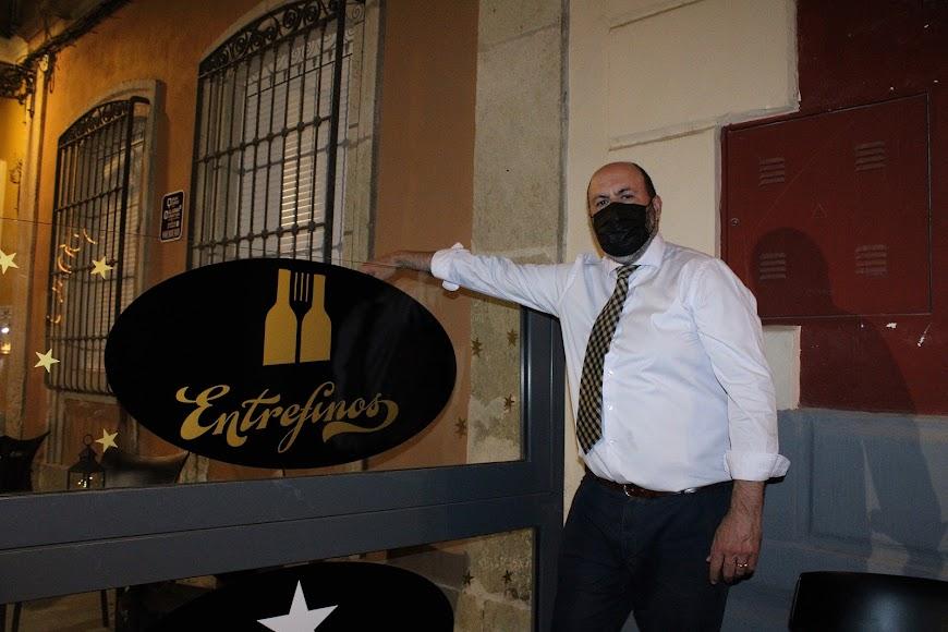 Francisco Morales, gerente de Entrefinos.