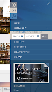 Legacy Hotels and Resorts- screenshot thumbnail