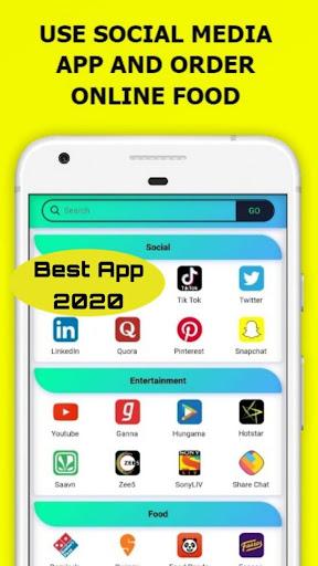 All In One Social Media,News,Sports,Shopping App 15.0.0 screenshots 3