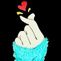 Finger Heart Wallpaper icon