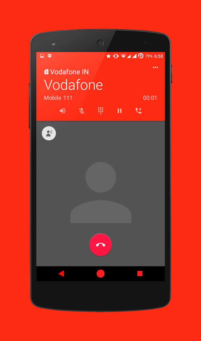 Скриншот Red and Black CM12 Theme