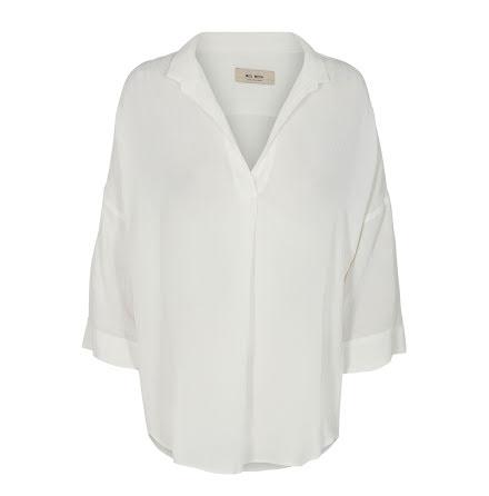 Mos Mosh Nava stitch blouse offwhite