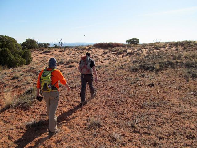 Walkin' across the desert