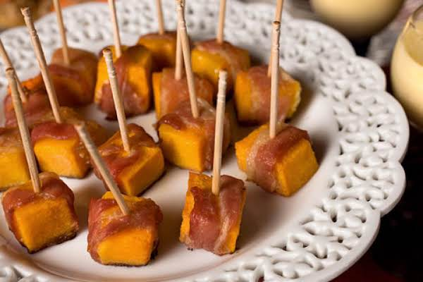 Squash And Bacon Appetizers