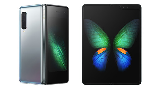 The Samsung Galaxy Fold will be available in Cosmos Black and Space Silver.