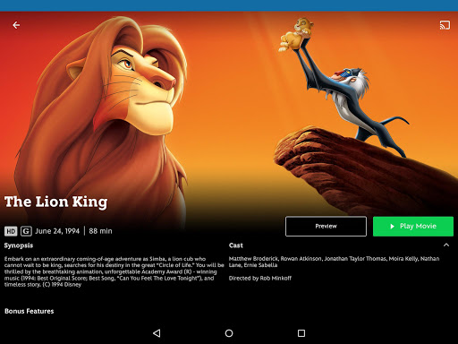 Disney Movies Anywhere screenshot 3