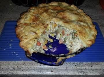Gourmet RV Chicken Pot Pie