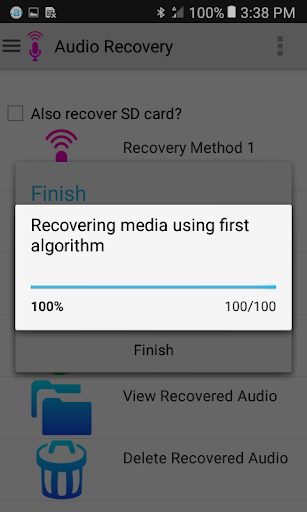Audio Recovery screenshot 8