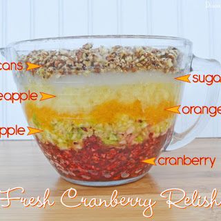 Fresh Cranberry Apple Relish Recipes