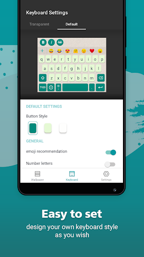 Rockey Keyboard -Transparent Emoji  Keyboard 1.19.2 Screenshots 7