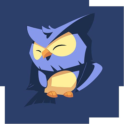 Purple Owl (Blue Light Filter)