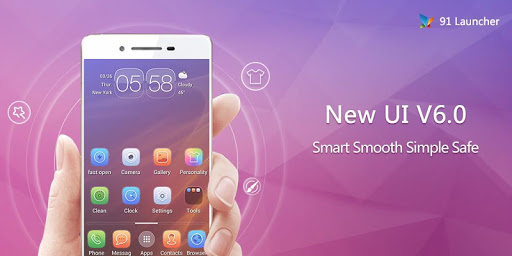 91 Launcher- Smooth Smart
