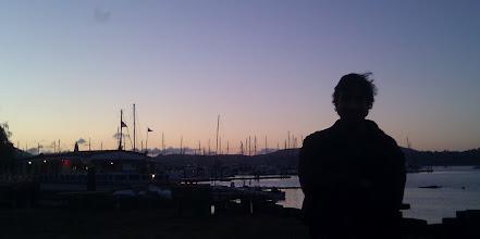 Photo: View away from the bay at Sausolito