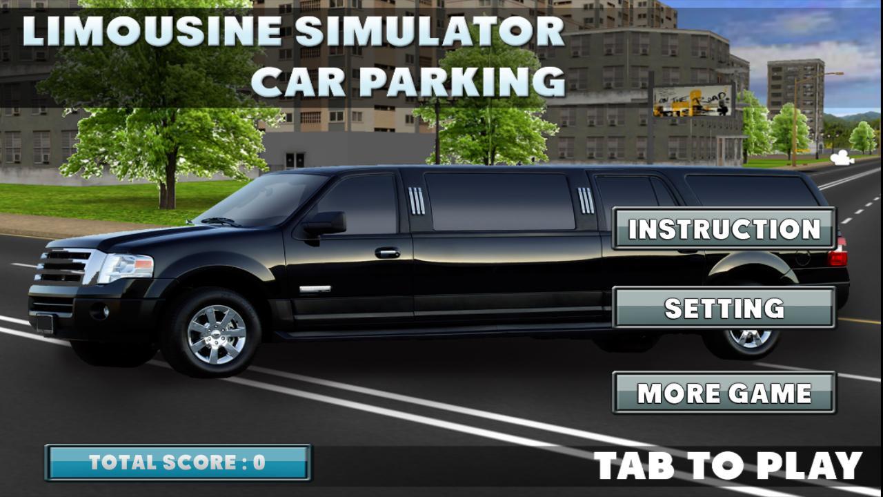 limousine car parking screenshot