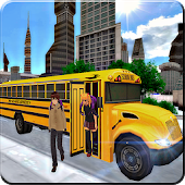 School Bus: City Drive Sim