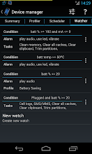 Photo: New device watcher (triggers)