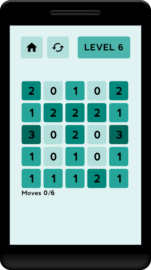 ZEROS - Brain puzzle numbers- screenshot