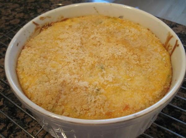 Crunchy, Cheesy Cauliflower Bake Recipe