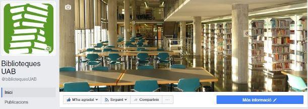 facebook biblioteques UAB