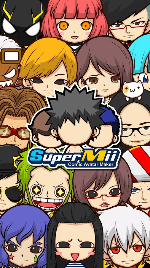 SuperMii- Make Comic Sticker- screenshot