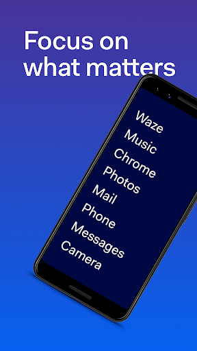 Minimalist launcher for focus | Before Launcher modavailable screenshots 1