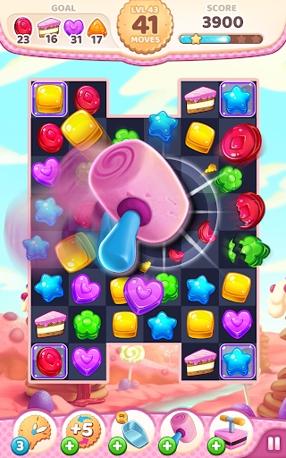 Cookie Rush Match 3 android2mod screenshots 3