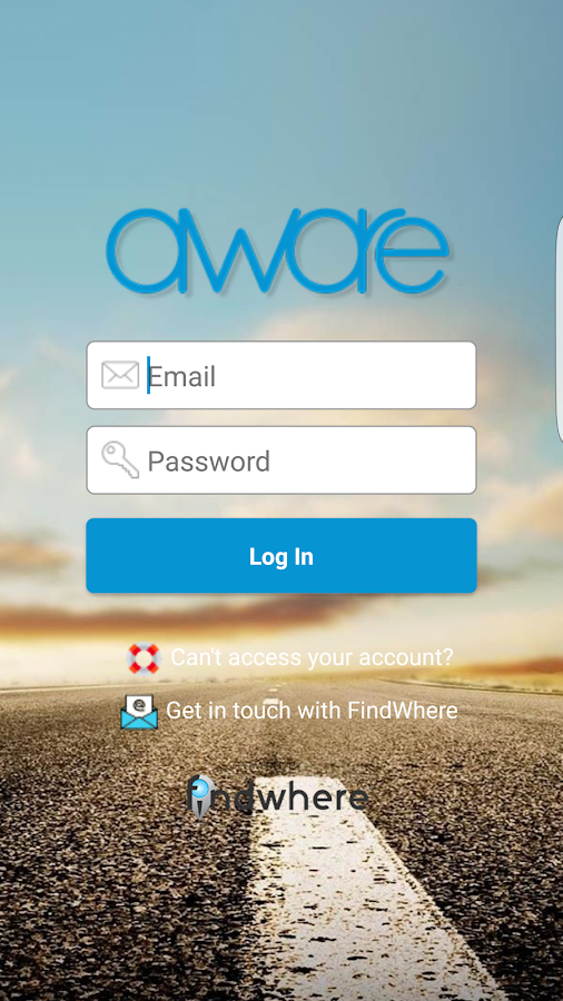 AWARE – Travel Safe & Secure- screenshot
