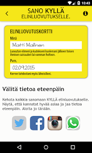 Elinluovutus- screenshot thumbnail