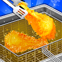 Crispy Deep Fry Maker - Carnival Food Cooking game icon