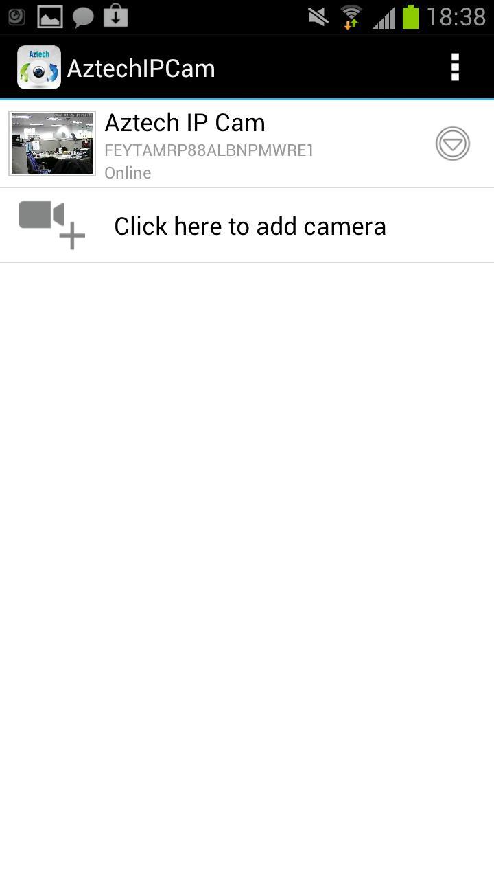 Скриншот Aztech IP Cam