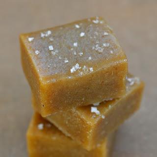 Tahini-Date Salted Caramels.