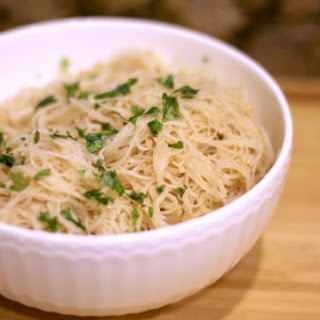 Garlic Sesame Rice Noodles