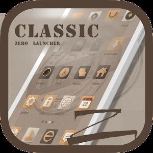 Classic Theme - ZERO Launcher App icon