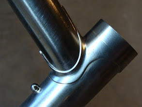 Photo: Long points up top too, also a short (10mm) extension and a ball bearing pump peg a la Serotta.