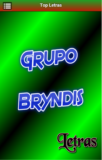Letras Grupo Bryndis