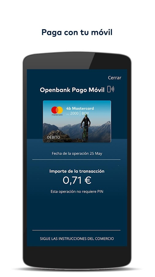 Openbank - Banco online- screenshot