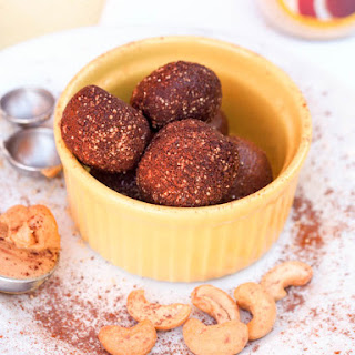 Honey Chocolate Cashew Truffles {GF, DF}