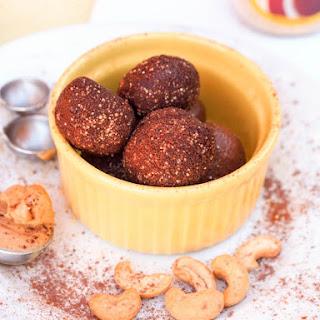 Honey Chocolate Cashew Truffles {GF, DF}.