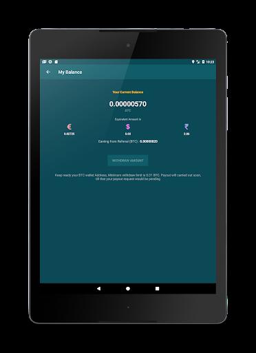 Freebit : Free Bitcoins 1.0 screenshots 10