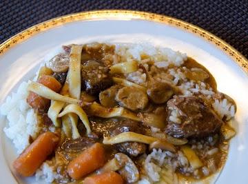 Burgundy Beef/venison Recipe
