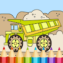 Vehicles Cars Coloring Book icon