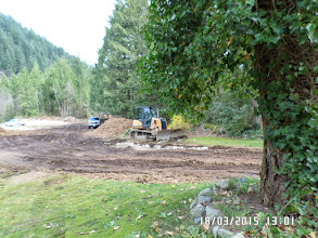 Photo: THE ROAD LEADING TO CONSTRUCTION SITE