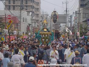 Photo: 【平成16年(2004) 本宮】 無事氏子回りを終え、祭典本部に向かう。