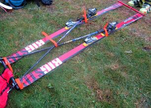 Photo: Mark's Brooks-Range sled nearing completion.